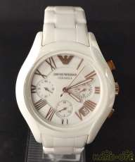 EMPORIO ARMANI クロノグラフ腕時計 セラミカ|EMPORIO ARMANI