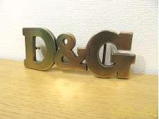 D&G ロゴバックル|D&G
