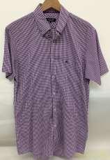 ギンガムチェックシャツ BURBERRY BLACK LABEL