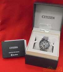 CITIZEN 1/20秒クロノグラフ 腕時計 エコドライブ|CITIZEN