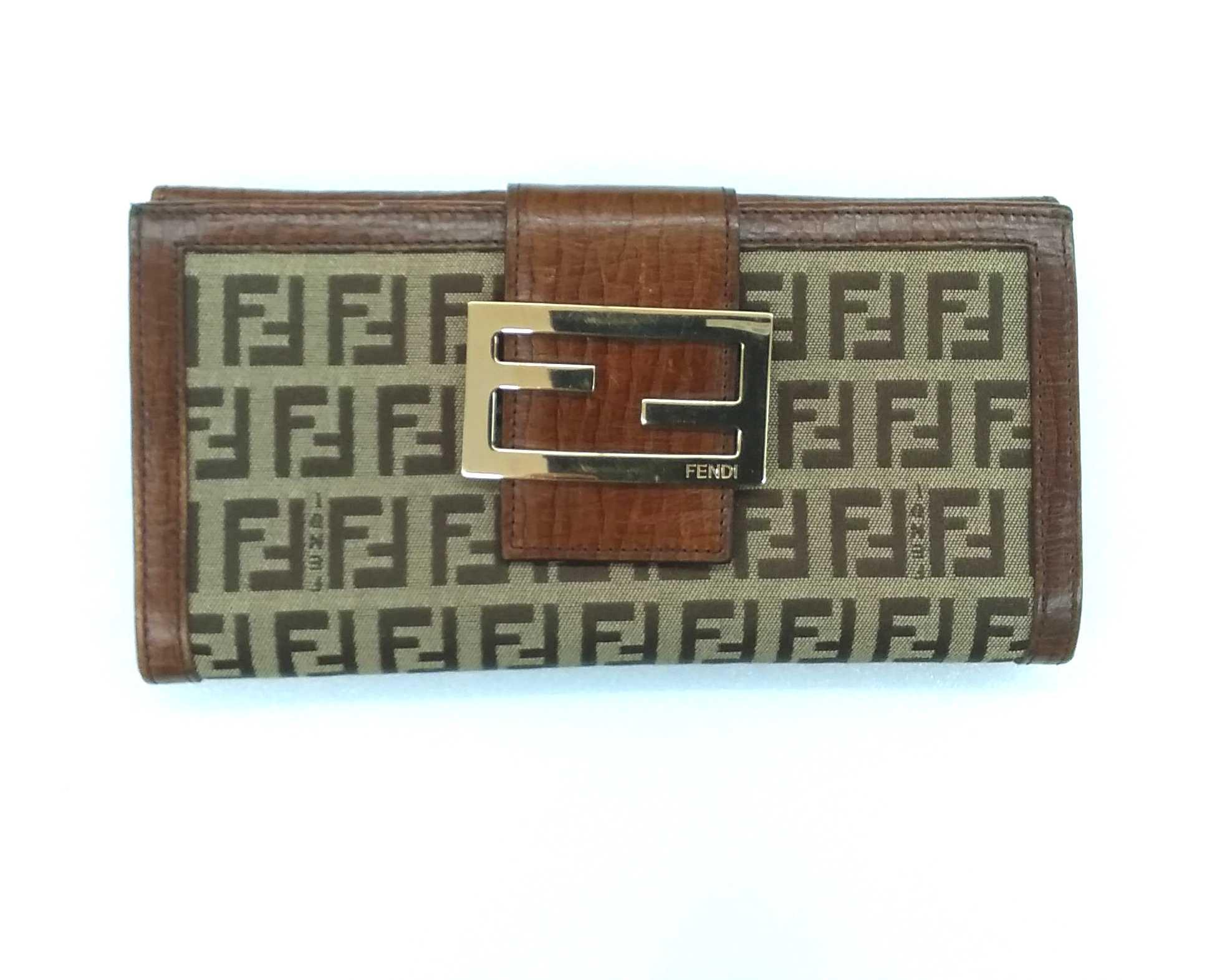 Wホック長財布|FENDI
