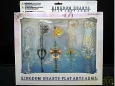 KINGDOM HEARTS PLAY ARTS ARMS SQUARE ENIX