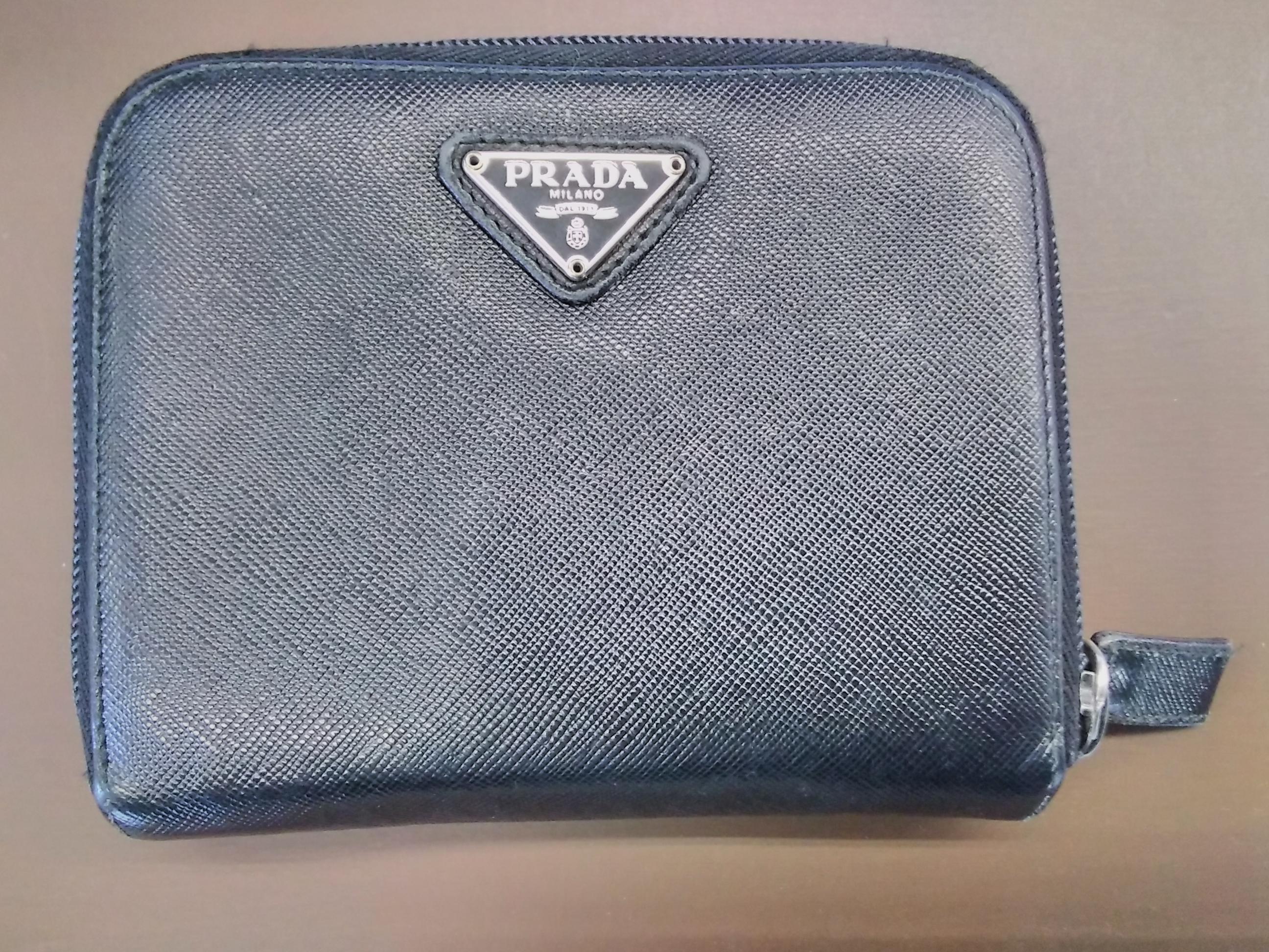 両開き財布|PRADA