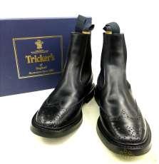 トリッカーズ エラスティック ブローグ ブーツ|TRICKER'S