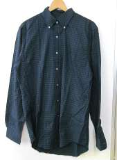 LSコットンチェックシャツ