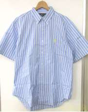 S/Sストライプシャツ