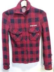 ウールチェックシャツ|HYSTERIC GLAMOUR