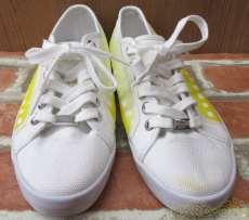 COACH スニーカー 白×黄