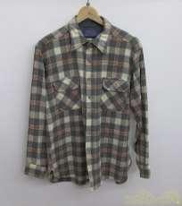 ウールチェックシャツ|PENDLETON