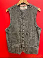 FICTION ROMANCE 10oz.WORK VEST|SUGAR CANE