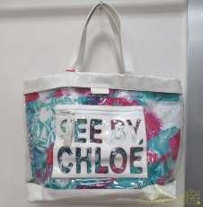 ビニールトートバッグ|SEE BY CHLOE