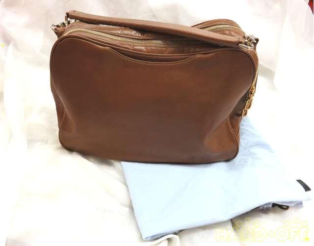 鞄+保存袋(シミ有)