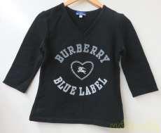 5分袖カットソー BURBERRY BLUE LABEL