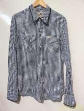 LSギンガムチェックシャツ WRANGLER
