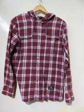 フードチェックシャツ|55DSL