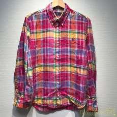 マドラスチェックボタンダウンシャツ RALPH LAUREN