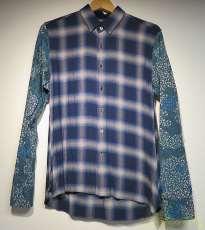 切替チェックシャツ|MIHARA YASUHIRO
