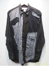 パッチワークシャツ/M|COMME DES GARCONS SHIRT