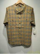 オーバーサイズ半袖シャツ|BURBERRYS