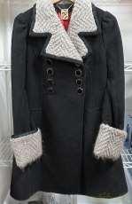 毛糸カラー ウールコート|DOLLYGIRL BY ANNA SUI