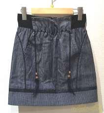 フェザーストラップスカート