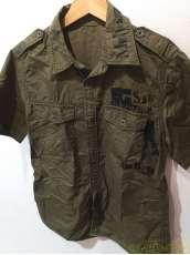 半袖ミリタリーシャツ
