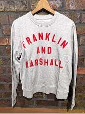 FRANKLIN&MARSHALL スウェット|FRANKLIN&MARSHALL