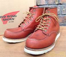 6INCHクラシックワークモック|RED WING