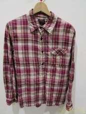 ハーフスナップチェックシャツ|OMNIGOD