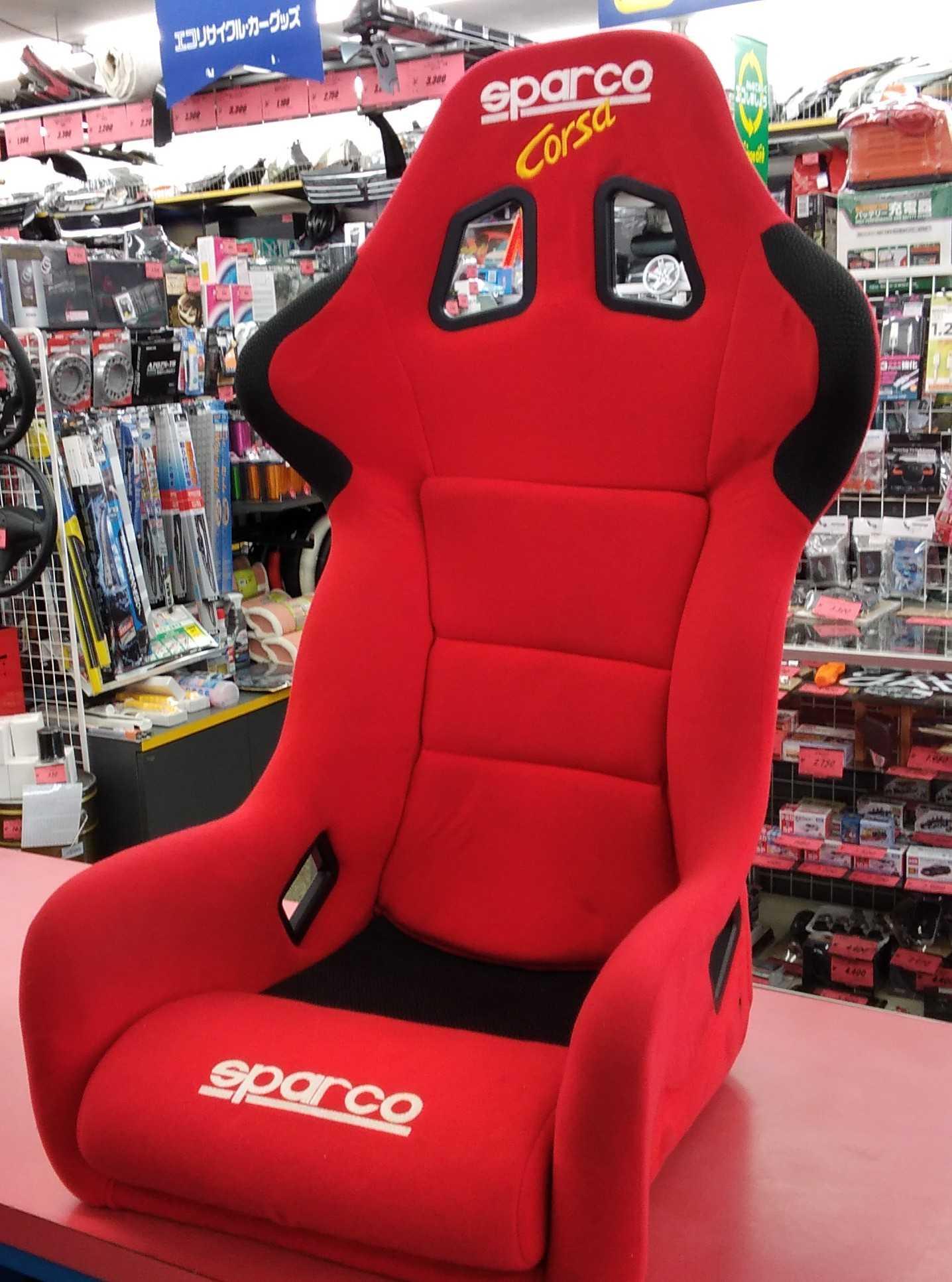 フルバケットシート|SPARCO