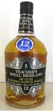 ロイヤルハイランド12年|TEACHER'S