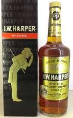 ゴールドメダル 旧ボトル|I.W. HARPER