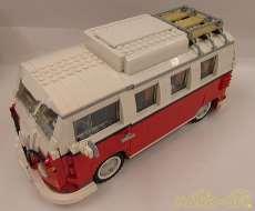 組み立て済み ワーゲンバス|LEGO