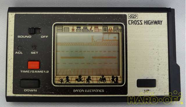 Bandai Cross Highway Game Digital Retro Game