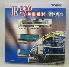 JR DE10・ワム80000形 貨物列車|TOMY TEC