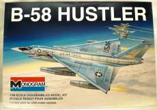 B-58 ハスラー MONOGRAM