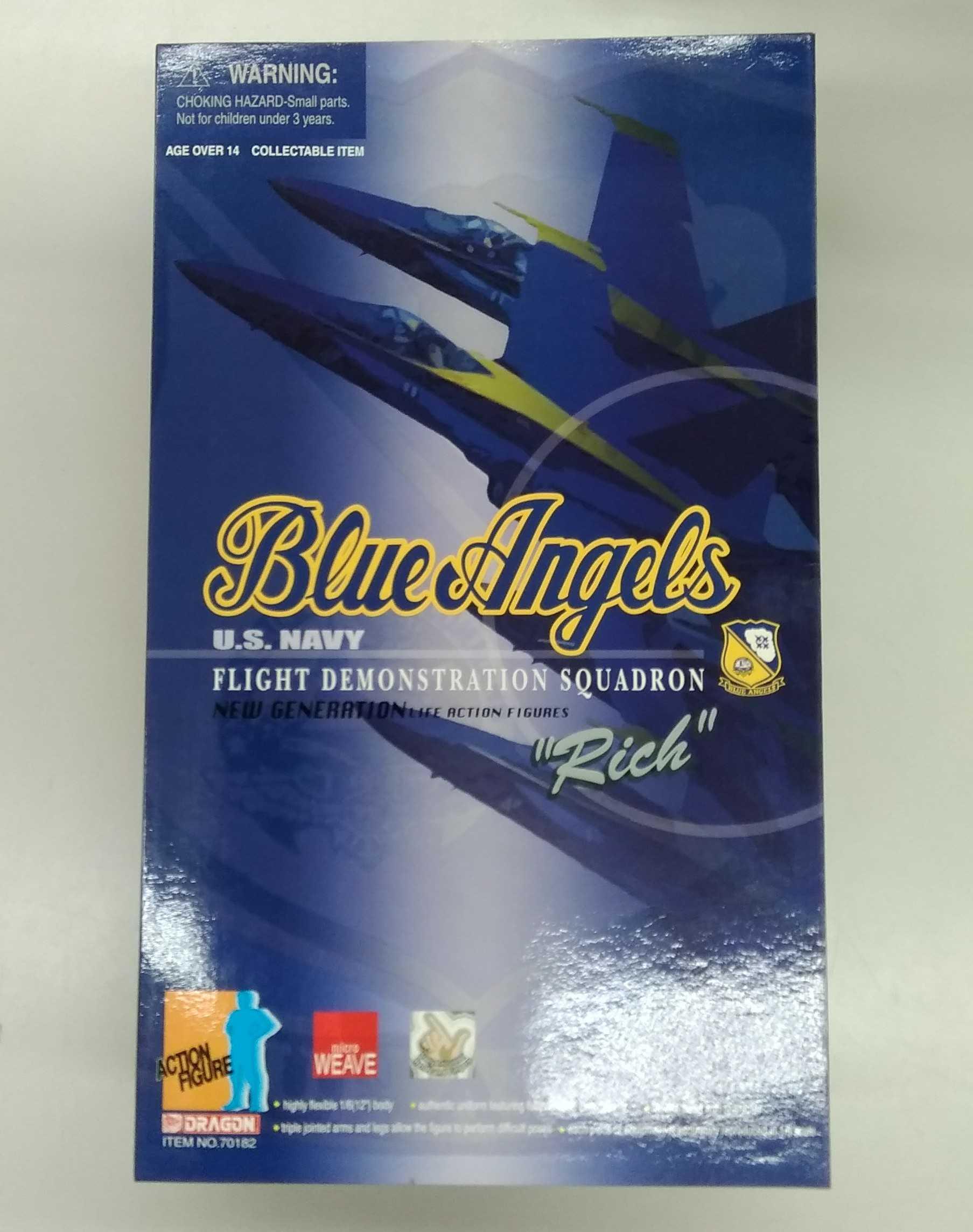 BLUE ANGELS DRAGON