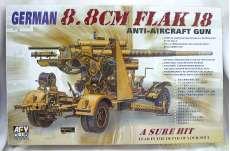 1/35 ドイツ軍 8.8cmFlak18 対空砲|AFVクラブ