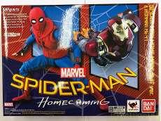 スパイダーマン(ホームカミング) ホームメイドスーツver&アイアンマン マーク47 BANDAI