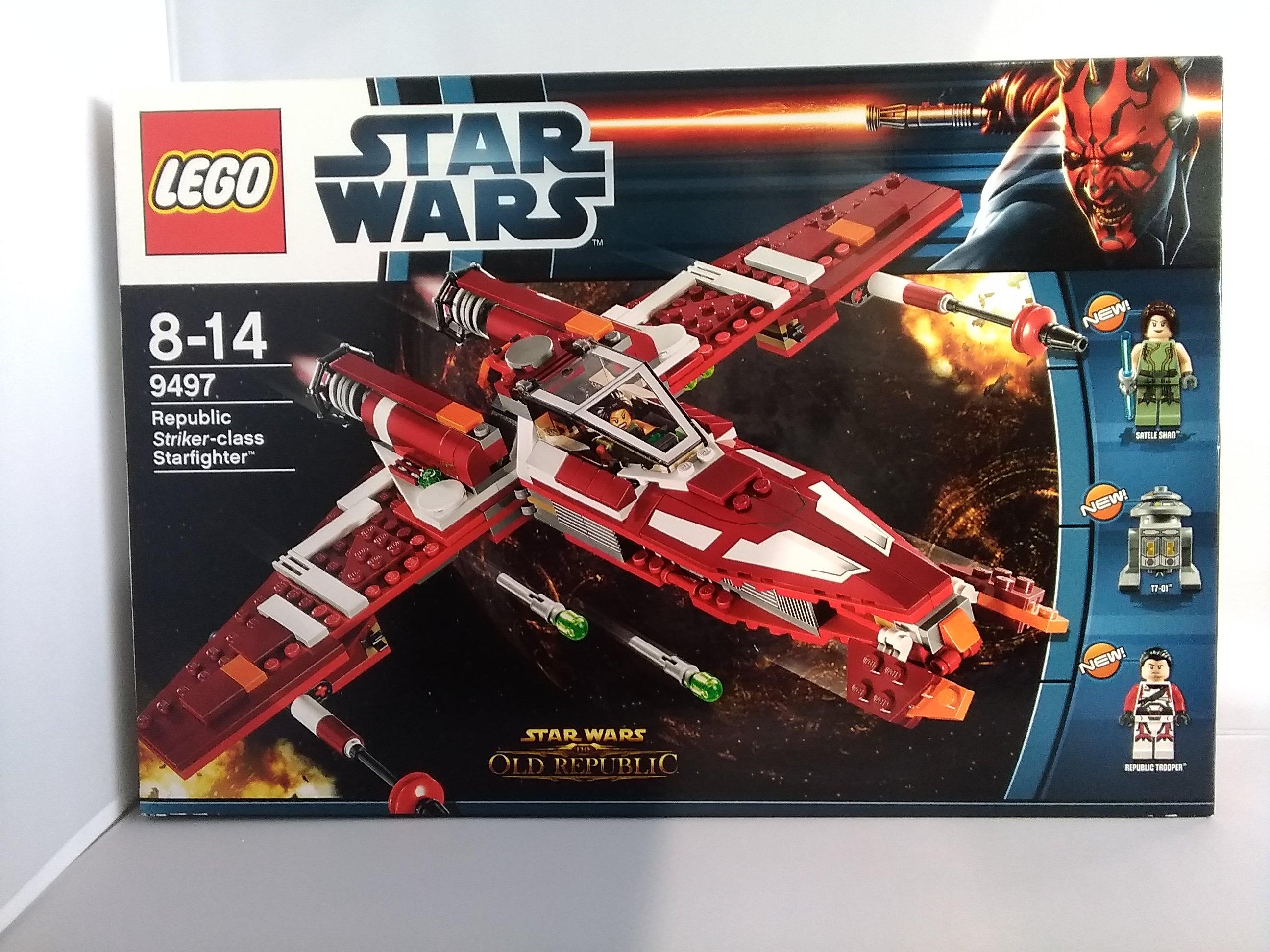 スターウォーズ 共和国軍のストライカー級スターファイター|LEGO