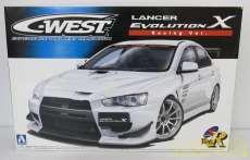 C-WEST ランサーエボリューション (レーシングVer)|青島文化教材社