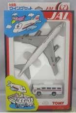 トミカ ウイングセット JAL 日本航空