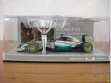 メルセデス AMG ペトロナス F1チーム W05 L .ハミルトン アブダビGP