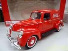 コカ・コーラ デリバリー パネルバン 1940年|MOTOR CITY CLASSICS
