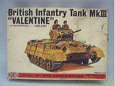 英国歩兵戦車マークⅢ バレンタイン|BANDAI