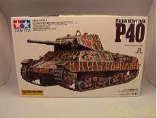 1/35 イタリア重戦車 P40 リミテッド・エディション