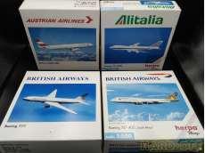 1/500 航空機 4個セット|HERPA