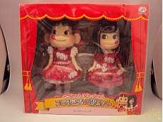 ペコちゃん&あっちゃん コラボ記念人形セット|