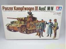 ドイツ・Ⅲ号戦車|TAMIYA