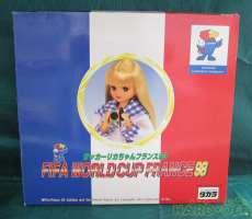 サッカーリカちゃん フランス98